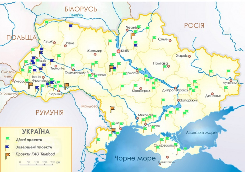 map ukraine ukr  projects